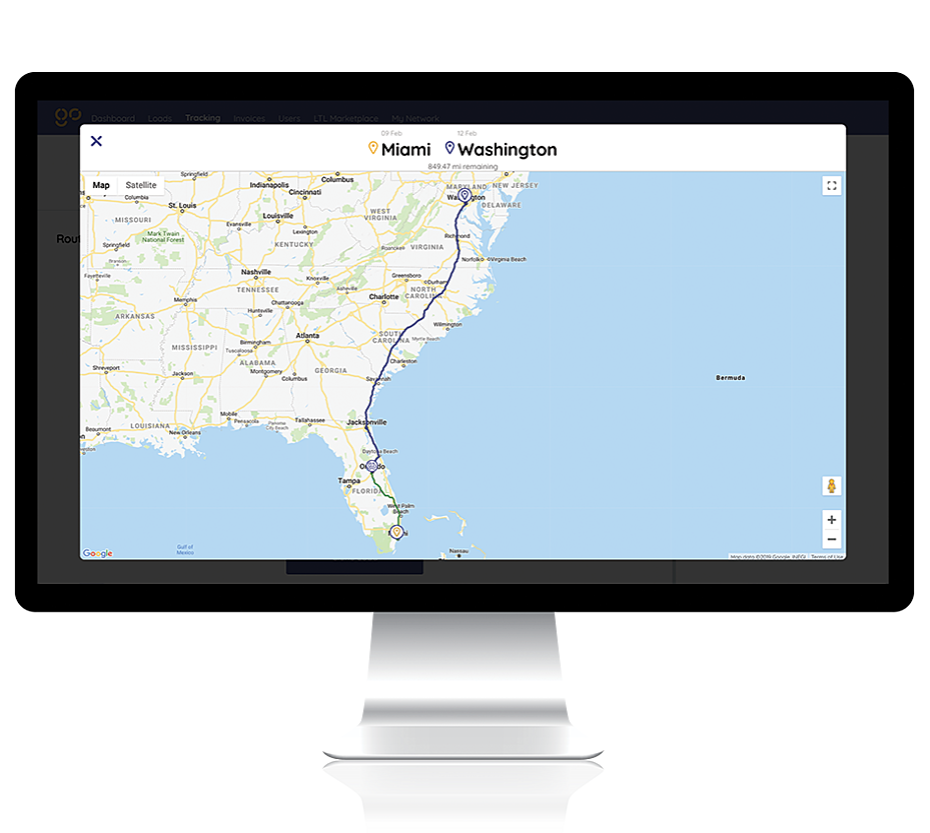 shipping platform 2